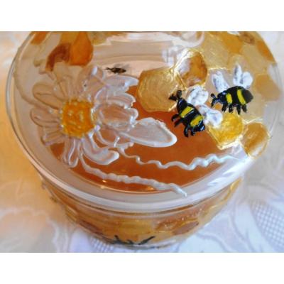 """Пчелки"". Баночка для меда."